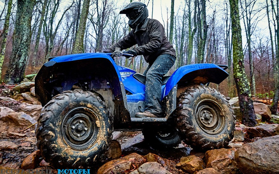 Анонс Yamaha Grizzly 2016